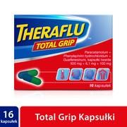 Theraflu Total Grip, kapsułki twarde, 16 szt.
