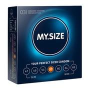 MY.SIZE, prezerwatywy, rozmiar 57 mm, 3 szt.