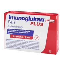 Imunoglukan P4H Plus, kapsułki, 5 szt.