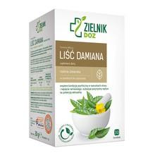 ZIELNIK DOZ Liść Damiana, zioła do zaparzania, 1 g, 30 saszetek