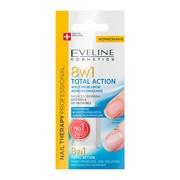 Eveline, Total Action 8 w 1, skoncentrowana odżywkado paznokci, 12 ml