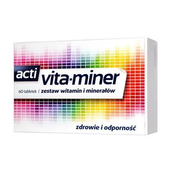 Vita-miner, z luteiną, tabletki, 60 szt.