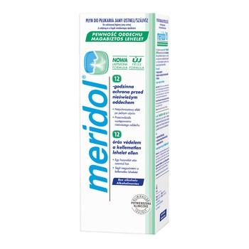 Meridol Pewność Oddechu, płyn do płukania jamy ustnej, 400 ml