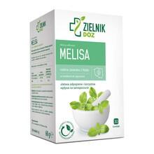 ZIELNIK DOZ Melisa, zioła do zaparzania, 2 g, 30 saszetek