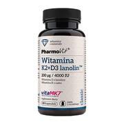 Pharmovit Witamina K2 + D3 lanolin, kapsułki, 60 szt.