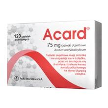 Acard,  75 mg, tabletki dojelitowe, 120 szt.