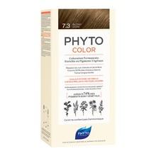 Phyto Color, farba do włosów, 7.3 złoty blond, 1 opakowanie