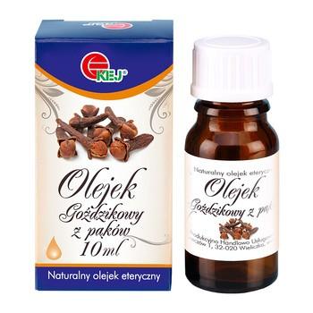 Kej, naturalny olejek goździkowy z pąków, 10 ml
