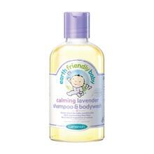 Earth Friendly Baby, łagodzący szampon i płyn myjący 2w1, lawendowy, 250 ml