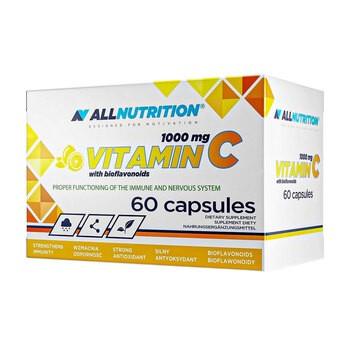 Allnutrition Witamina C 1000 mg z bioflawonoidami, kapsułki, 60 szt.