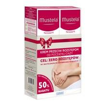 Mustela, krem przeciw rozstępom, 250 ml x 2 opakowania (duopack)
