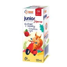 DOZ PRODUCT Junior Żurawina, syrop, 120 ml