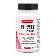 Pharmovit B-50 Methyl B-Complex Max+, kapsułki, 60 szt.