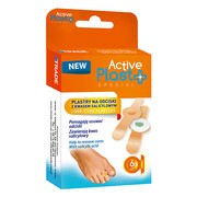 Active Plast, plastry na odciski z kwasem salicylowym, 6 szt.