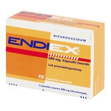 Endiex, kapsułki twarde, 200 mg, 12 szt