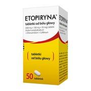 Etopiryna tabletki od bólu głowy, 50 szt.
