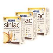 Zestaw 3x Sinlac bezglutenowy produkt zbożowy dla niemowląt po 4. miesiącu, 500 g
