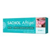Sachol Aftigel, żel, tubka, 12 ml