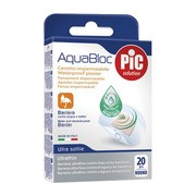 PiC Solution AquaBloc, plastry rounded, antybakteryjne, 20 szt.