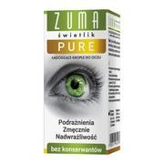 Zuma Świetlik Pure, krople do oczu bez konserwantów, 10 ml