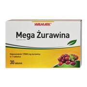 Mega Żurawina, tabletki, 30 szt.