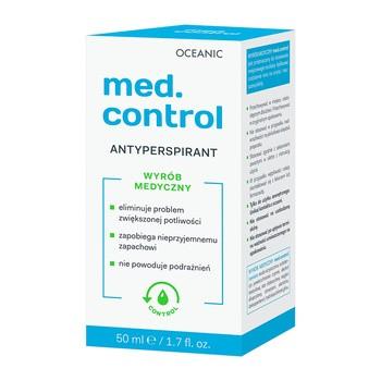 Med.control, antyperspirant, roll-on, 50 ml