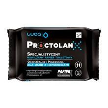 Luba, Specjalistyczny nawilżany papier toaletowy Proctolan, 48 szt