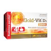 Olimp Gold-Vit D3 2000, tabletki, 120 szt.