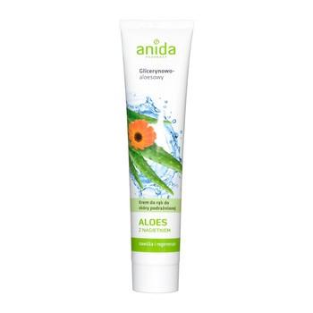 Anida, krem do rąk glicerynowo - aloesowy z nagietkiem, 125 ml