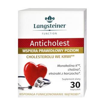 Anticholest, kapsułki, 30 szt.