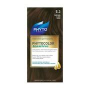 Phyto Color Sensitive, farba do włosów, 5.3 jasny złoty brąz, skóra wrażliwa, 1 opakowanie