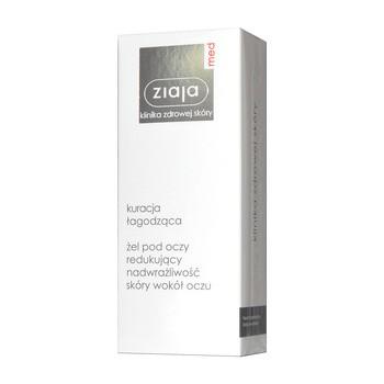 Ziaja Med, żel pod oczy redukujący nadwrażliwość, 15 ml