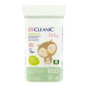 Cleanic Eco Baby, płatki dla niemowląt i dzieci, 60 szt.