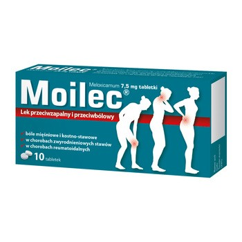 Moilec, 7,5 mg, tabletki, 10 szt.