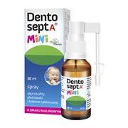 Dentosept A Mini, spray, ulga na afty, pleśniawki i bolesne ząbkowanie, 30 ml