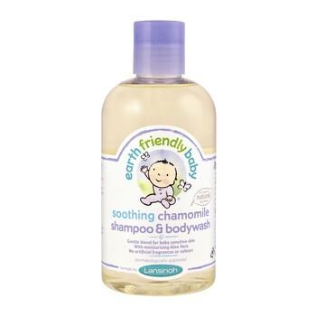 Earth Friendly Baby, kojący szampon i płyn do kąpieli 2w1, rumiankowy, 250 ml