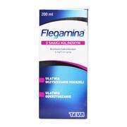 Flegamina, 4 mg/5 ml, syrop o smaku malinowym, 200 ml