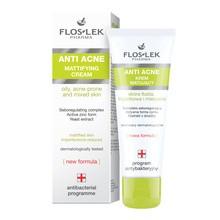 FlosLek Pharma Anti Acne, krem matujący, 50 ml