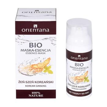 Orientana Bio, maska-esencja, żeń-szeń koreański, 50 ml