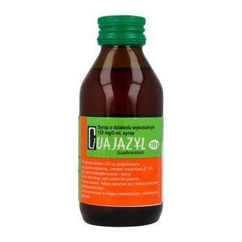 Guajazyl, 125 mg/5 ml, syrop, 150 g