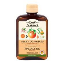 Green Pharmacy, olejek do masażu, rozgrzewający, 200 ml