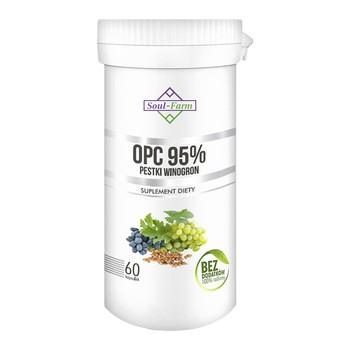 OPC 95% pestki winogron, kapsułki, 60 szt.