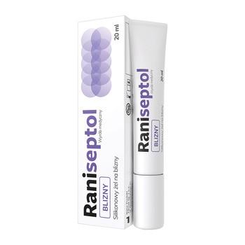 Raniseptol Blizny, żel, silikonowy, 20 ml