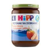 HiPP BIO, kaszka mleczna z biszkoptami i jabłkami, po 4.miesiącu, 190 g
