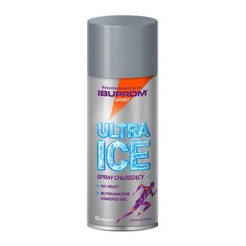 Ultra Ice, spray chłodzący, 200 ml