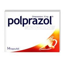 Polprazol Acidcontrol, 10 mg, kapsułki dojelitowe twarde, 14 szt.