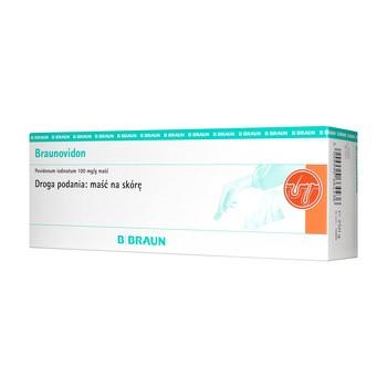 Braunovidon, 100 mg/g, maść, 250 g (tuba)