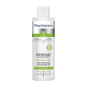 Pharmaceris T Sebo-Micellar, antybakteryjny płyn micelarny do twarzy i oczu, 200 ml
