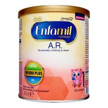 Enfamil Premium A.R 1 mleko modyfikowane w proszku 400 g na ulewanie