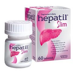 Hepatil Slim, tabletki, 60 szt.
